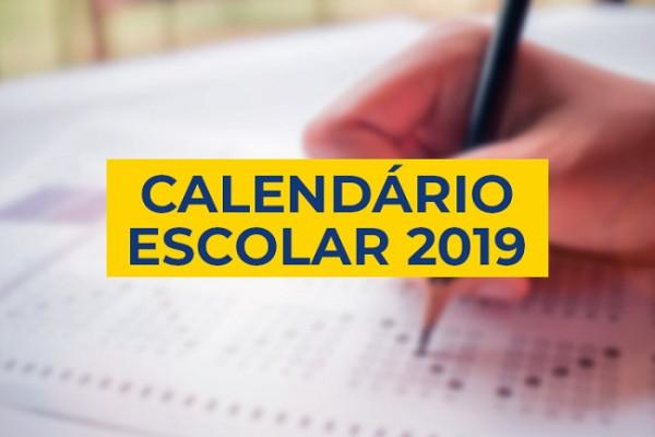 CALENDÁRIO ESCOLAR 2019 - CNEC BRASÍLIA