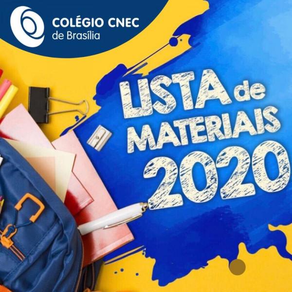 Lista de Material 2020 - CNEC Brasília