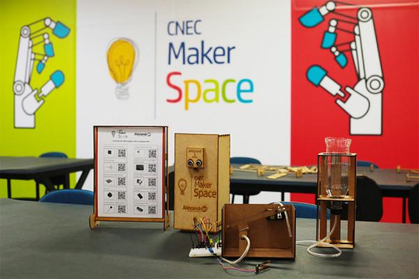 CNEC Talks de julho será sobre MakerSpace