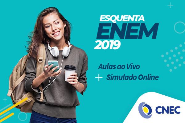 CNEC disponibiliza simulados e aulões gratuitos para o Enem, a partir desta quarta-feira
