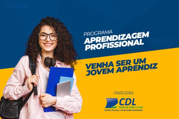 Aprendizagem Profissional é na CNEC  - Programa JOVEM APRENDIZ