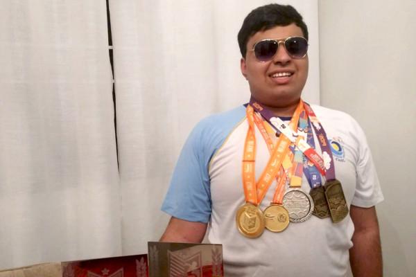 Dia do Atleta Paralímpico: Entrevista com o aluno e atleta Pablo Henrique de Melo