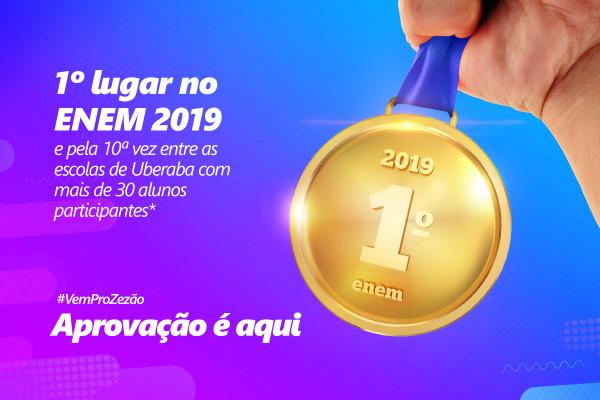 Colégio Cenecista Dr. José Ferreira conquista o 1º lugar no ENEM pela 10ª vez em Uberaba