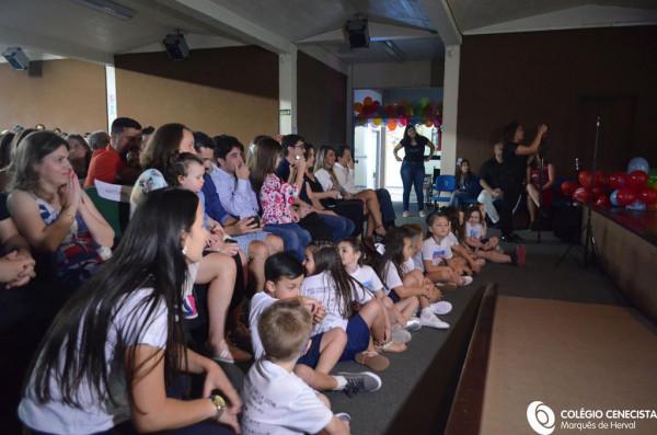 Encerramento da Educação Infantil do Colégio Marquês