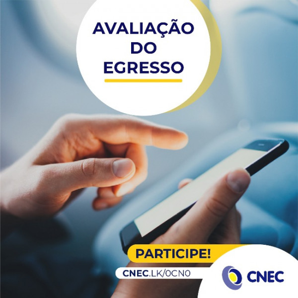 Colégios CNEC realizam avaliação do egresso no mês de abril