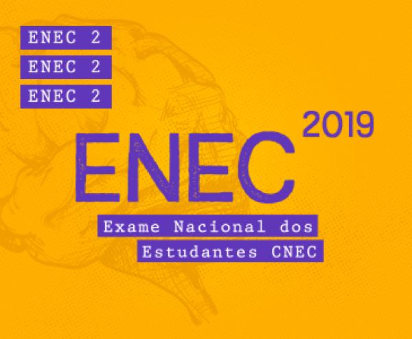 ENEC 2 será aplicado de 23 de setembro a 8 de outubro nos colégios