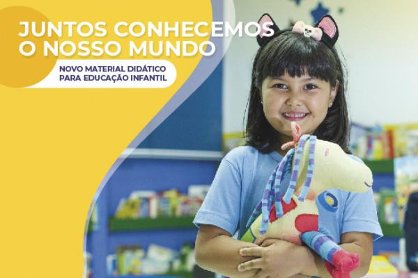 Educação infantil da CNEC tem material didático renovado para o ano de 2020